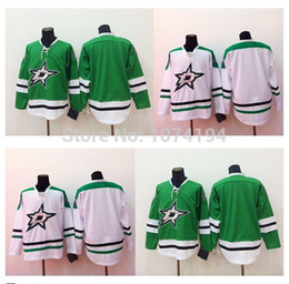 $enCountryForm.capitalKeyWord NZ - Free Shipping Cheap Sale 2015 Men's Dallas Stars Blank Jersey Best Quality Home Green Away White No Name Number Hockey Jersey