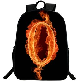 $enCountryForm.capitalKeyWord UK - 0 lucky number backpack Soft nylon fabric daypack Fire figure schoolbag Photo rucksack Sport school bag Outdoor day pack
