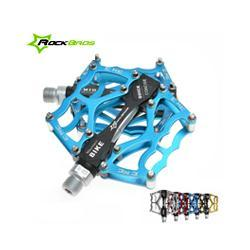 """Aluminum Alloy Body Canada - RockBros MTB BMX DH Bike Parts Aluminum Body Axle 9 16"""" Cr Mo Spindle Cycling Seald Bearing Bike Bicycle Pedal, 4 Colors"""