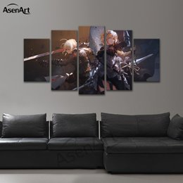 Wall Art Cartoon The Grand Order Canvas Painting Modern Printed Poster Living  Room Home Decorative Framed Ready To Hang Dropshipping
