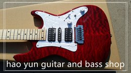 24 fret guitars Australia - free shipping electric guitar 24 fret maple fingerboard thank you high quality lock tuners real pic to show factory shop