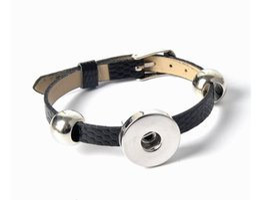 $enCountryForm.capitalKeyWord Canada - 2016 Hot Snap Button Bracelets Newest Design Fashion NOOSA chunks Leather Bracelets Fit Noosa Chunk DIY Rivca Snaps Jewelry
