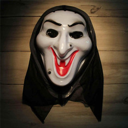 $enCountryForm.capitalKeyWord NZ - Horror Mask Screaming Witch Full Face White Volto Cosplay Venetian Mardi Gras Masks For Halloween Masquerade Balls Costume Party Supplies