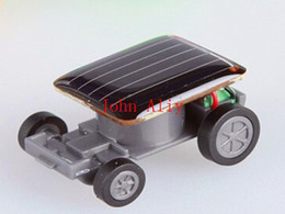 $enCountryForm.capitalKeyWord Canada - Wholesale Hot sale Popular Smallest Mini Car Solar Powered Toy Car New Mini Children Solar Toy Gift Free shipping