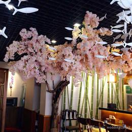 Cherry blossom wreath australia new featured cherry blossom artificial 1 meters long elegant white cherry blossom wreaths home living display wedding decoration supplies junglespirit Gallery