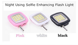 Wholesale LED lights christmas lights Portable Mini 16 Leds LED Flash IBlazr Fill-IN Light For iPhone IOS Android Smartphone 15w led downlight 100up