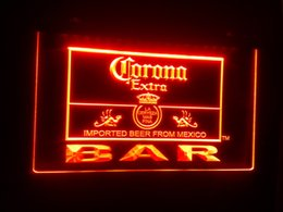 logo neon light Canada - b-44 Corona Extra Beer Bar Pub Club Logo 7 color LED Neon Light Sign