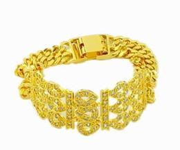 noble yellow gold filld phoenix lady's bracelet (20*1.2cm) (sp3658)