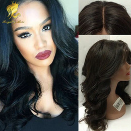 $enCountryForm.capitalKeyWord NZ - Wholesale Price silk base Wavy Brazilian Human Hair Glueless Full Lace Wig &Front Lace Wig middle part Best Human Hair Wig 130density
