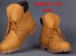 tims shoes 2019 - Wholesale-tims 2015 new genuine leather men boots snow boot Martin boots leather boots man woman Outdoor waterproof shoe