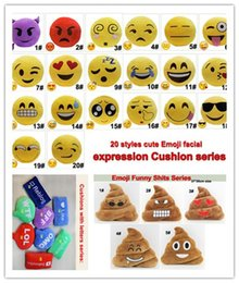 $enCountryForm.capitalKeyWord Canada - 33 Styles Cushions Cute Emoji Cartoon Pillows Facial Expression Cushion pillow Funny Shits and lovely letter cushions Stuffed Plush Toy 2pcs