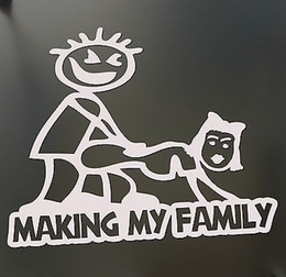 Discount Car Window Decals Family  Funny Family Car Window - Family window decals