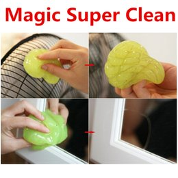 Discount magic clean keyboard cleaner gel - Magic Cleaning Gel Cleaner Car Cleaner Super Clean Soft Gel Dust Clean High Tech Cleaning Compound for Laptop Keyboard