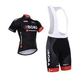 Опт дешевые Бора с коротким рукавом Велоспорт трикотажные изделия велосипед носить Бора Велоспорт одежда (нагрудник / нет нагрудник брюки)открытый оборудование S-4XL