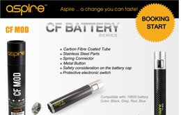 E cigarEttE low rEsistancE online shopping - Original Aspire CF Battery supply intense power for low resistance tank e cigarette battery Compatible with battery