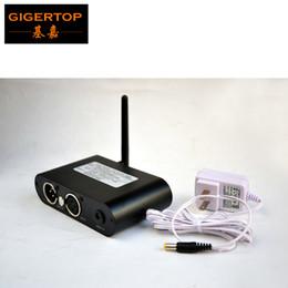 Dmx 512 Wireless Controller NZ - 2.4G Wireless Stage Light Controller Aluminum Box DMX 512 Wireless Lighting Receiver  Transmitter 400m Distance