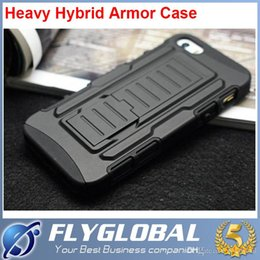 Wholesale Future Armor Impact Hybrid Hard Case Cover Belt Clip Holster Kickstand Combo Shockproof cases For Samsung Galaxy S6 Edge S6 S5 S4 S3