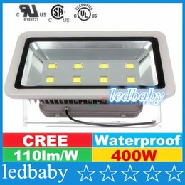 Cree Canopy lights online shopping - AC V W led floodlights Waterproof Outdoor Led Flood Lights CREE Led Canopy Lights Warranty Years Free DHL FEDEX