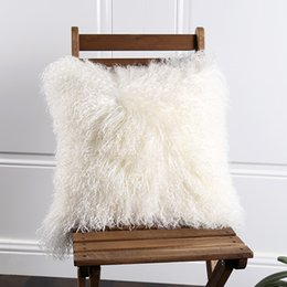 954ccfd153 Tibet lamb skin fur seat pad 45 45cm