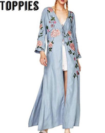 Discount Blue Kimono Cardigan | 2018 Blue Kimono Cardigan on Sale ...