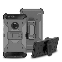 Hard clip Holster online shopping - For ZTE Avid MetroPCS Case Hard PC Kickstand With Degree Swivel Belt Clip Full Body Protective Holster Case A