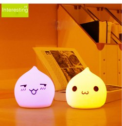$enCountryForm.capitalKeyWord NZ - Water droplets Silica gel LED table lamp Creative Light colorful Increase atmosphere small soft Night light Colorful Christmas Gift for Kids