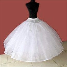 petticoat sale Canada - 2015 New Cheap Petticoat No Hoop Underskirt Lace Edge Ball Gown For Bridal Dresses Wedding Accessory Undergarment Hot Sale