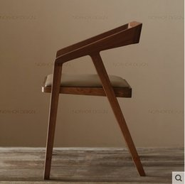 $enCountryForm.capitalKeyWord NZ - Nordic American custom solid wood dining chair coffee chair computer chair office chair hotel dining tables and chairs, wrought