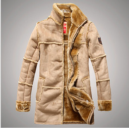 Beige Leather Jacket Fur For Men Online | Beige Leather Jacket Fur ...