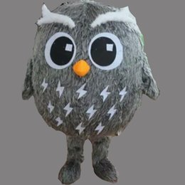 Nights Costume Canada - Hot New: Lovely New Night Owl mascot Costume For Festival Hallooween Christmas