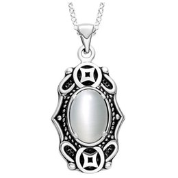 $enCountryForm.capitalKeyWord UK - new necklace with thick silver necklace 925 retro opal necklace jewelry trade spot