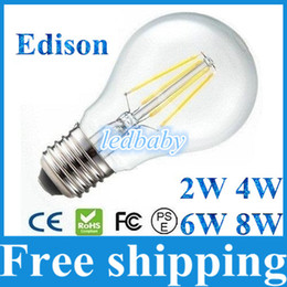 $enCountryForm.capitalKeyWord Canada - New Tungsten Filament Led Bulbs Lights 360 Degree E27 2W 4W 6W 8W Led Lights Lamp Warm Cold White AC 85-265V + CE ROHS
