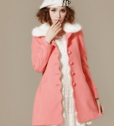 Discount Light Pink Fur Coat | 2017 Light Pink Fur Coat on Sale at ...