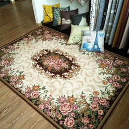 Jacquard Mat Canada - Fashion Anti-skid Jacquard Carpet for Living room Dining Bedroom Mat Rug