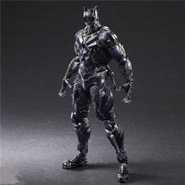 $enCountryForm.capitalKeyWord Australia - LilyToyFirm Play Arts Kai Superhero Civil War Black Panther 26cm PVC Action Figure Collectible Model Toy Gifts