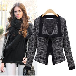 $enCountryForm.capitalKeyWord Canada - Coats For Women 2015 Autumn Womens Jacket Quality Linen Ladies Knitted Sweater Coat Fashion Cardigan Weaters For Women