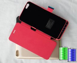 """$enCountryForm.capitalKeyWord Canada - 5.5"""" iPhone6 plus 5800mAh power banks available now cover for iPhone 6 plus, charger case with leather case back, with retail packaging."""