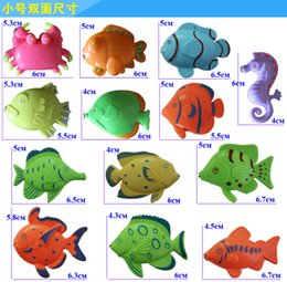 $enCountryForm.capitalKeyWord NZ - Unisex Magnetic Fishing Toy Game For Boys & Girls Hot Sell Non-electric Plastic Children Fancy Multicolored Fishes Model