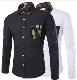 Discount Mens Camouflage Dress Shirts | 2017 Mens Camouflage Dress ...