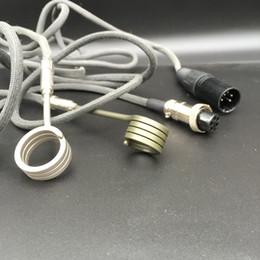 Enail Bongs Canada - High quality 1.2m Dnail Enail Heater Coils Heating 100W 110V 220V Multi Sizes for Domeless Titanium Nail for Glass Bong Water Pipe