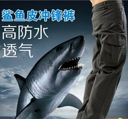 Waterproof Camouflage Clothing Canada - High quality Men's Clothes TAD Hiking Pants Lurker Shark skin Outdoor Military Tactical Hiking Pants Waterproof Sports Army camouflage Pant