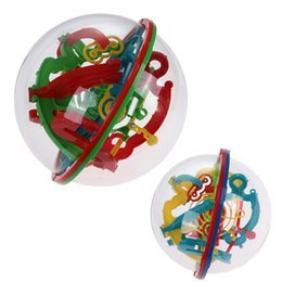 Home 3d Labyrinth Intellect Ball Balance Barrier Magic Maze Puzzle Toy Children Educational Toy Bm88