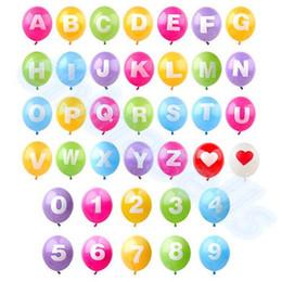 $enCountryForm.capitalKeyWord Canada - new DIY 16-inch alphabet English letter Number A-Z 0-9 inflatable balloons birthday party wedding Christmas decoration latex balloon