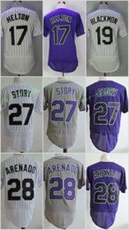 b7458bf9905 ... League Orange Men Home Run Colorado Rockies 17 Todd Helton 19 Charlie  Blackmon 27 Trevor Story 28 Nolan Arenado Flexbase Jerseys ...