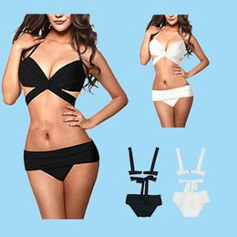 Barato Maiô De Lycra-Rockabilly retro 2pcs Sexy Pin up cintura alta Bikini Set Sheer Lace Swimsuit Swimwear S-L tamanho
