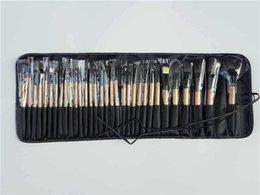Goat Hair Dhl Canada - Big Sales!32Pcs Professional Makeup Brush Cosmetic Brushes Set Tool+Case 5 sets free shipping DHL