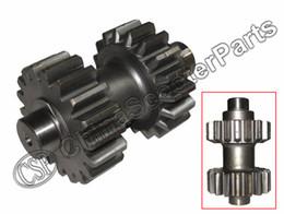 Gear Atv Canada - Wholesale- 18 19 teeth Double Gear For Kazuma Dingo Falcon Redcat Cougar Gator 250cc ATV Reverse gear box