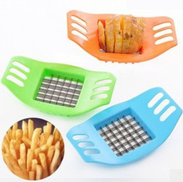 Eco Potato Cutter Australia - Stainless Steel Vegetable Potato Slicer Cutter Chopper Chips Making Tool Potato Cutting Fries Tool Kitchen Accessories