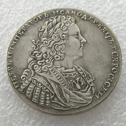 Russia Coin Australia - RUSSIA 1 Rouble Ruble 1728 Silver Peter II copy coins manufacturing copy coin Factory Price nice home Accessories Silver Coins