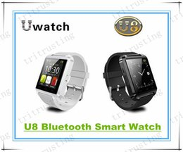 Smart Watch Iphone Android Australia - U8 Smart Bluetooth Watches WristWatch U8 U Watch for iPhone Samsung S4 S5 Note 2 Note 3 HTC Android Phone Smartphones MQ200